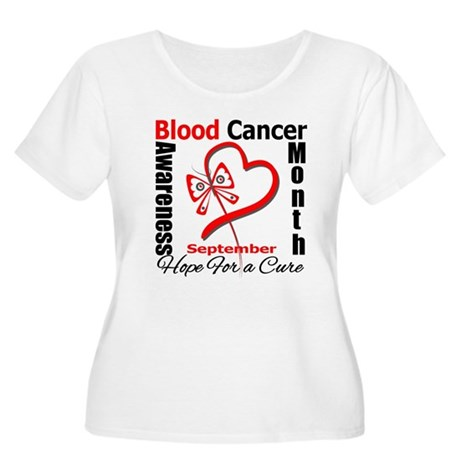 Lymphoma Awareness Month v4 Women's Plus Size Scoo