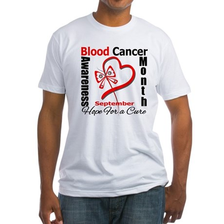 Lymphoma Awareness Month v4 Fitted T-Shirt
