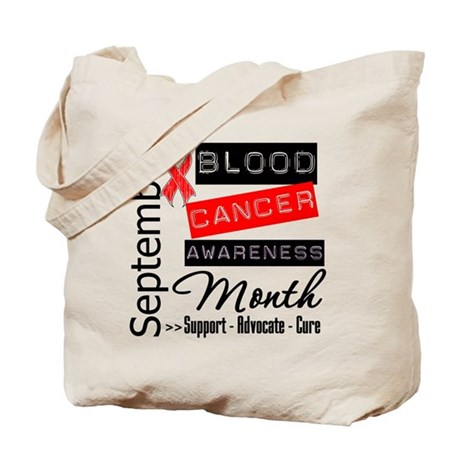 Blood Cancer Month v3 Tote Bag