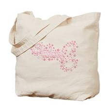 Pink Sparkly TwiHard Tote Bag