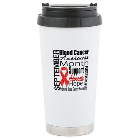 Blood Cancer Month v2 Ceramic Travel Mug