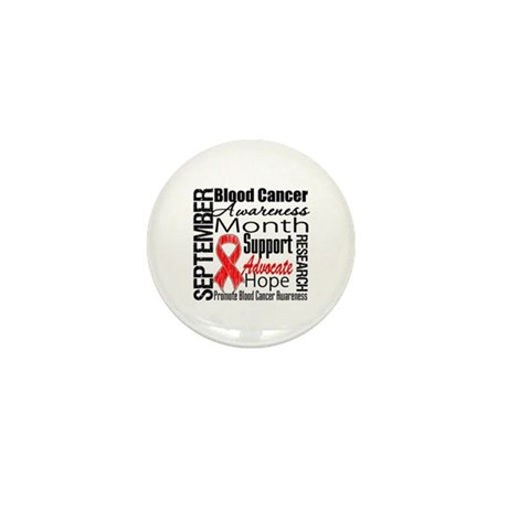 Blood Cancer Month v2 Mini Button (100 pack)