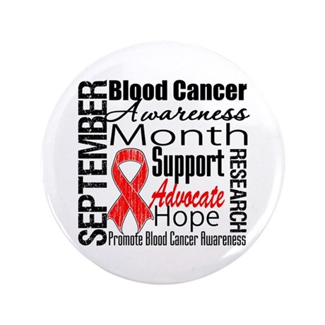 "Blood Cancer Month v2 3.5"" Button (100 pack)"