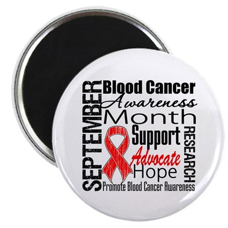 "Blood Cancer Month v2 2.25"" Magnet (100 pack)"
