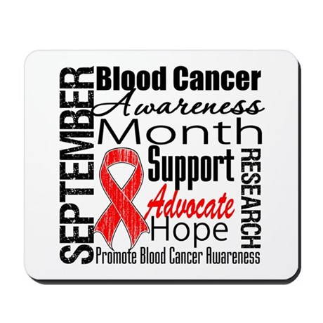 Blood Cancer Month v2 Mousepad