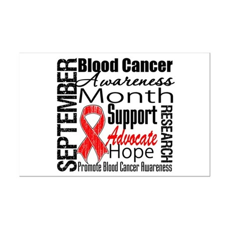 Blood Cancer Month v2 Mini Poster Print