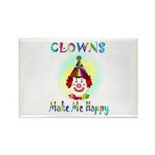 Clown Rectangle Magnet (10 pack)