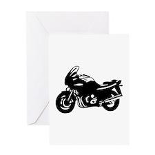 Motorbike Greeting Card
