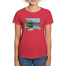 Swiss Beauty Women's Red T-Shirt