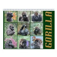 Gorilla Bunch Calendar
