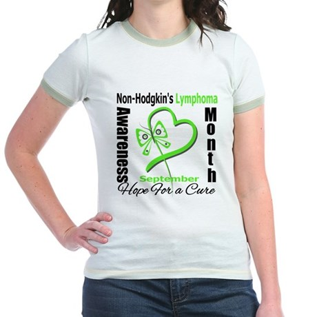 NonHodgkinsAwarenessMonth Jr. Ringer T-Shirt