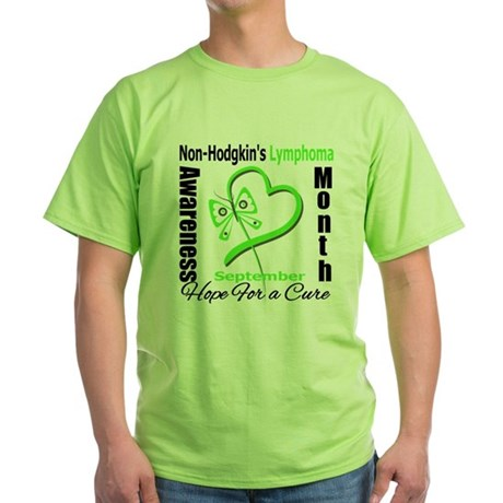 NonHodgkinsAwarenessMonth Green T-Shirt