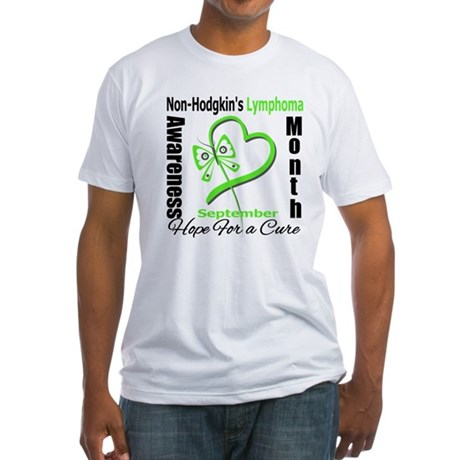 NonHodgkinsAwarenessMonth Fitted T-Shirt
