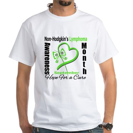 NonHodgkinsAwarenessMonth White T-Shirt