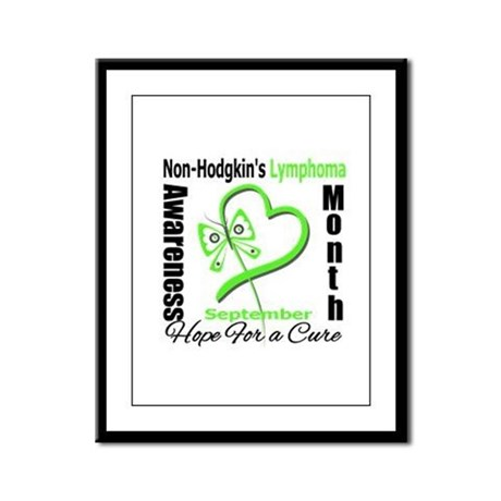NonHodgkinsAwarenessMonth Framed Panel Print