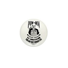 POW-MIA: U.S. Constitution Mini Button (100 pack)