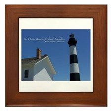 Bodie Island Lighthouse Framed Tile