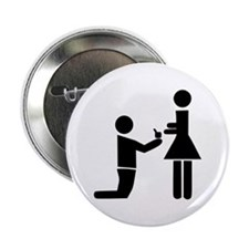 "Wedding Proposal 2.25"" Button"