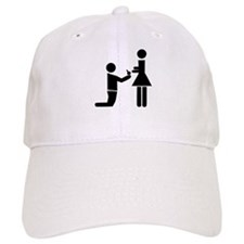 Wedding Proposal Baseball Cap