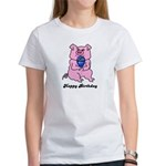 HAPPY BIRTHDAY PINK PIG Women's T-Shirt