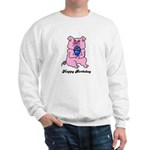HAPPY BIRTHDAY PINK PIG Sweatshirt