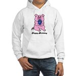 HAPPY BIRTHDAY PINK PIG Hooded Sweatshirt