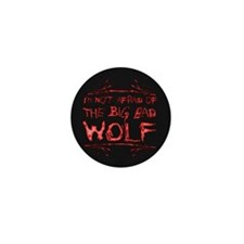 Big Bad Wolf Mini Button (10 pack)