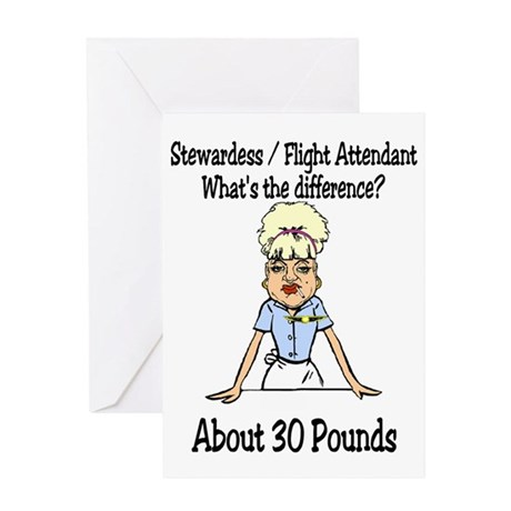 30 Pounds Greeting Card