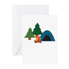 Camp Site Greeting Cards (Pk of 20)