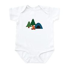 Camp Site Infant Bodysuit