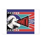 Russian Feminist Propaganda Postcards (Package of