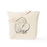 Fantail Pigeon Tote Bag