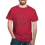 Fantail Pigeon Dark T-Shirt