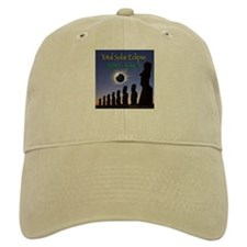 2010 Total Solar Eclipse 2 - Baseball Cap