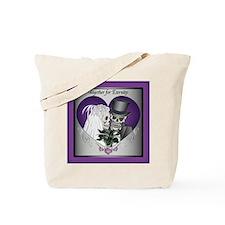 Wedding Skulls Tote Bag