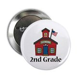 2nd Grade School 2.25&quot; Button