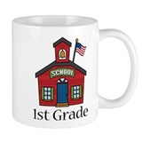 1st Grade School Small Mug