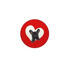 Black Frenchie Lover Mini Button (100 pack)