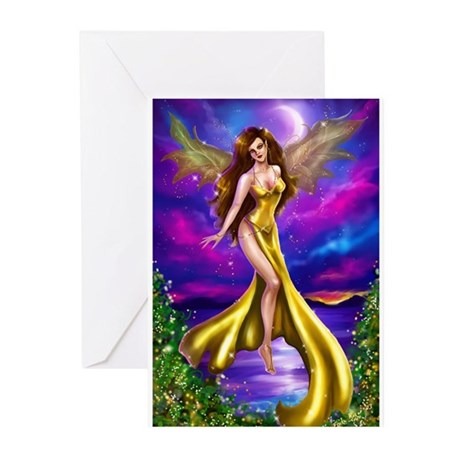 Golden Fae Greeting Cards (Pk of 10)