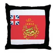 Proctor's First Battalion Fla Throw Pillow