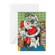 Santa's Little Helpers Greeting Cards (Pk of 20)