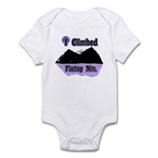 I Climbed Flattop Mountain Infant Bodysuit