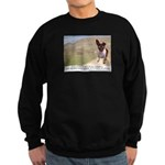 Giant Chupacabra Sweatshirt (dark)