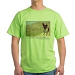 Giant Chupacabra Green T-Shirt