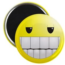 "Unique Smiley face 2.25"" Magnet (100 pack)"