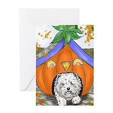 Pumpkin House Greeting Card