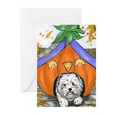 Pumpkin House Greeting Cards (Pk of 10)