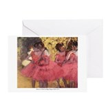 Dancers in Pink Greeting Card