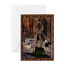 Herne, Thr Reborn Lord Greeting Card