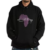 Amharic Mama (purple) Hoodie
